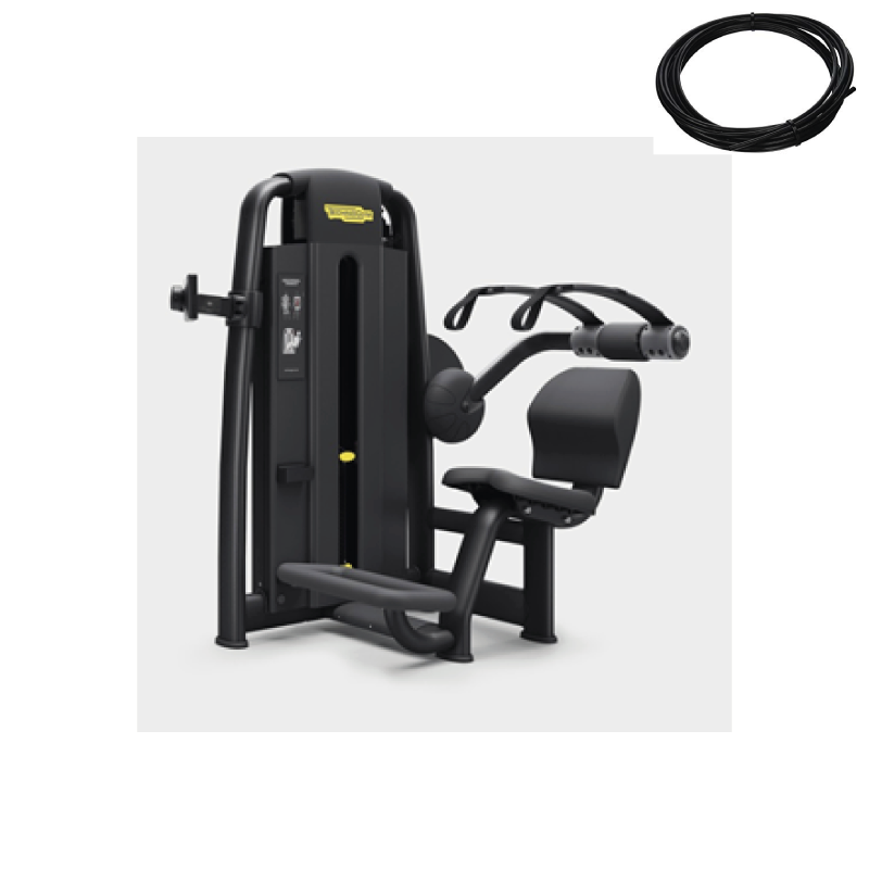 Parts cables abdominal crunch Selection line - Wellness Outlet
