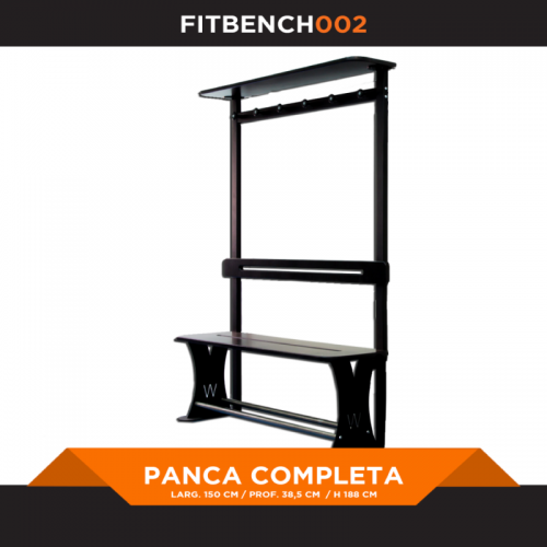 Bench 1500 complete - FITART - Wellness Outlet