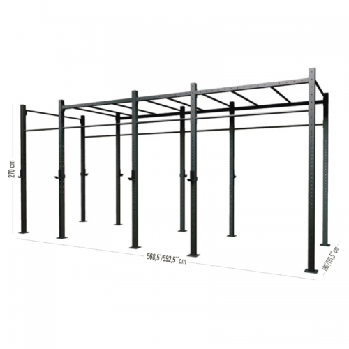 4 Span stand alone with monkey station G60-4AMS  TOORX - Wellness Outlet