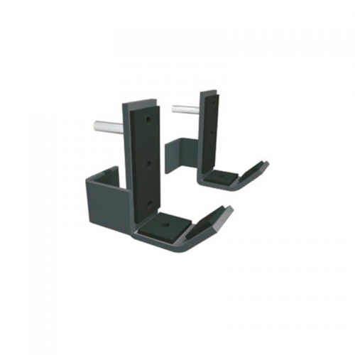 Coppia supporti bilanciere challenge AG60-SB  TOORX - Wellness Outlet