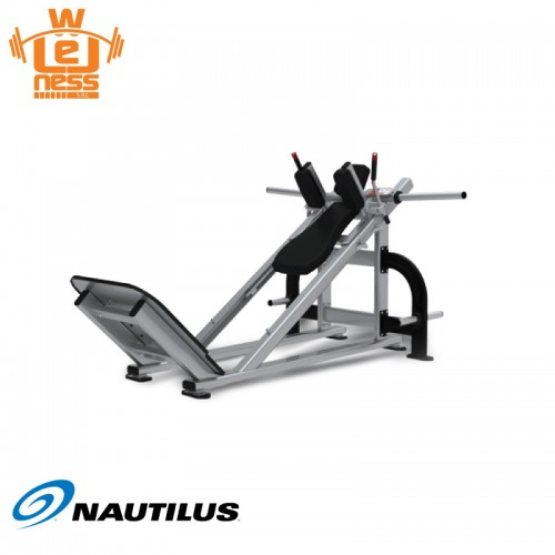 Plate loaded hack squat - Nautilus - Wellness Outlet