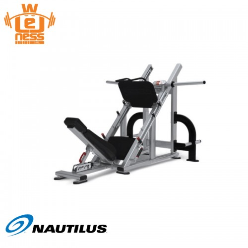 Plate loaded angled leg press - Nautilus - Wellness Outlet