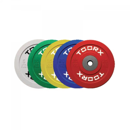 Competition bumper weight plates Ø 45 cm DBC  TOORX - Wellness Outlet