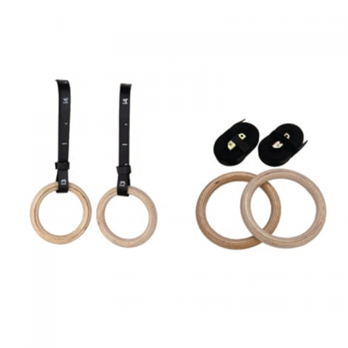 Wooden gym rings CAGL TOORX - Wellness Outlet