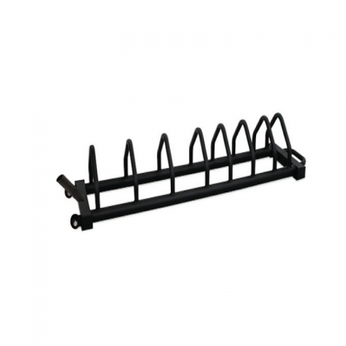 Horizontal bumper weight plates rack TOORX - Wellness Outlet