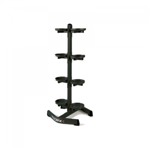 Vertical kettlebells/medicine balls rack (8 places)  TOORX - Wellness Outlet