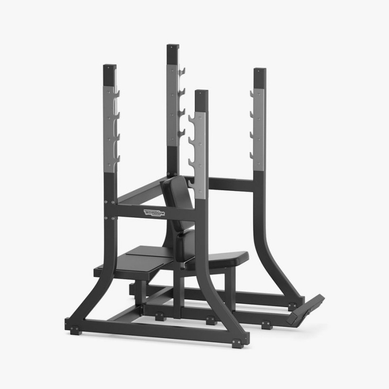 Olympic military bench - Technogym Pure Strength - Wellness Outlet
